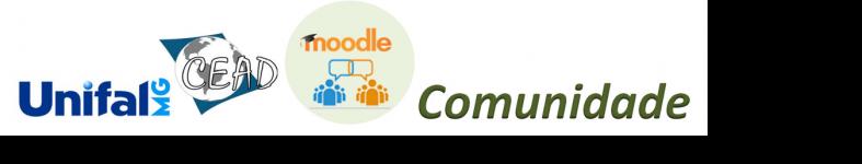 Moodle Comunidade UNIFAL-MG
